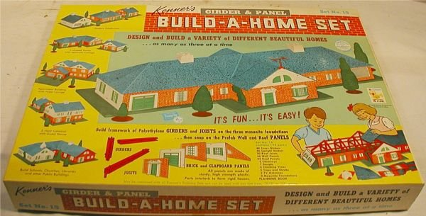 3081: 1962 Kenner Girder and Panel Build A Home Set #14