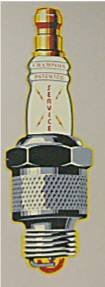 5003: Champion Sparkplug Advertising Sign, Reproduction