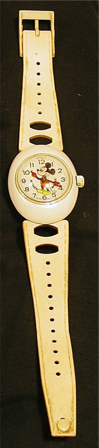 5020: Vintage Mickey Mouse Wristwatch, Swiss Made