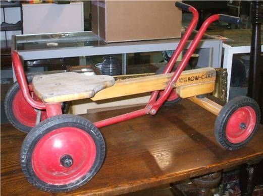 5007: Radio Flyer Row Cart, Very Good Condition