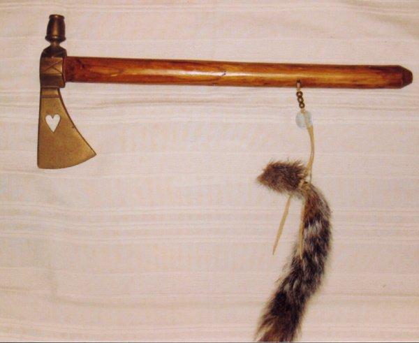 1001: Pipe-Tomahawk (Brass) Head