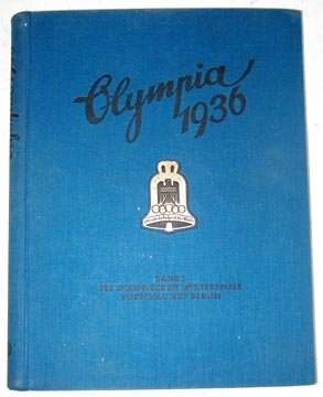 Olympics 1936 Book with Original Box Cover