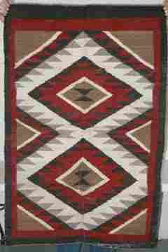 Navaho Rug 33.5 x 52 .5