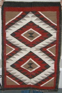 1010: Navaho Rug 33.5 x 52 .5