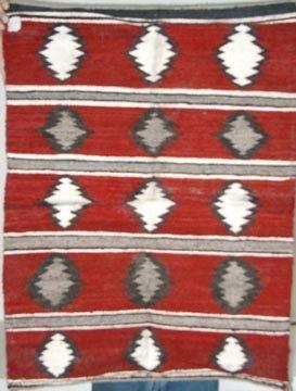 1020: Navaho Rug 28.5 x 38.5