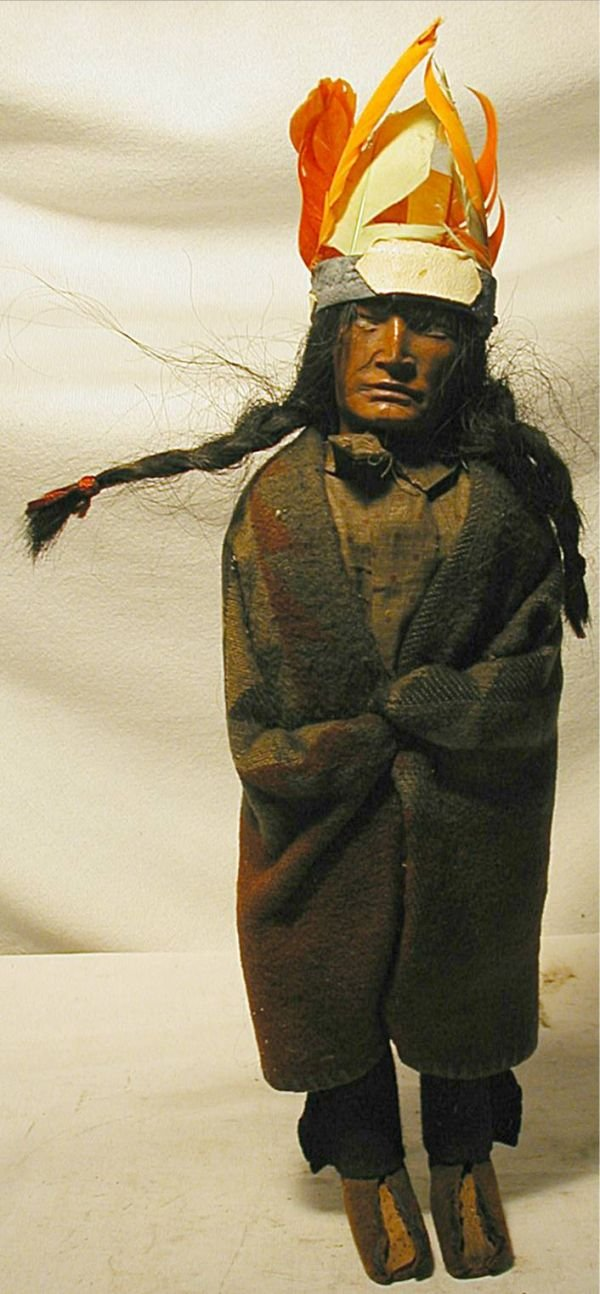 """1010: 12 1/2"""" High with Leather Feet, Skookum Chief"""