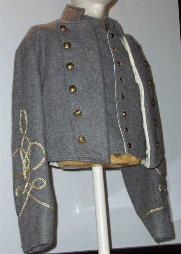 1023: Civil War Costume from the Movie Blue and Gray wi