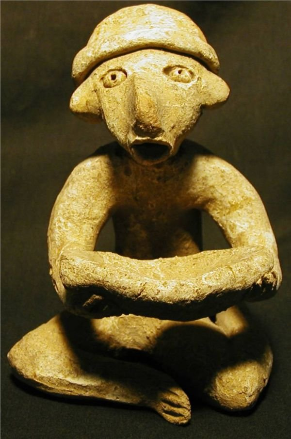 "1020A: Pre Columbian Idol, 4 1/2"" High"
