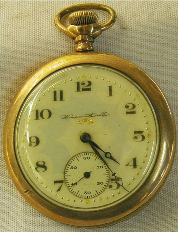 2007: Hampton Watch Co. Pocket Watch by Dueber, Canton,