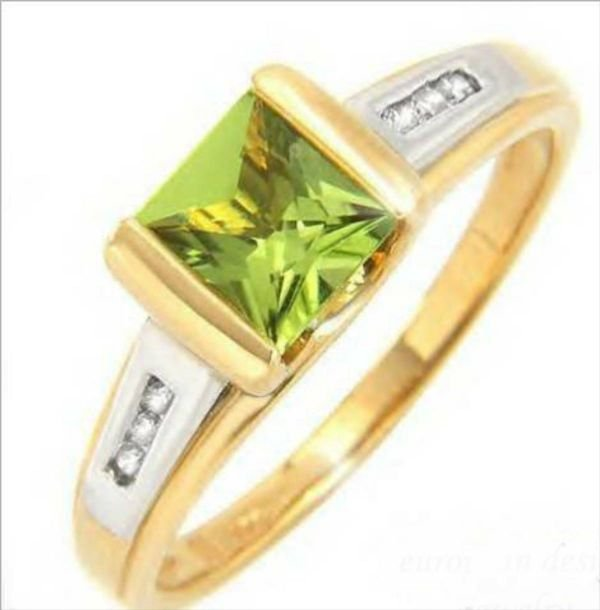 3020B: Charming Ring With 1.18ctw Precious Stones - Gen