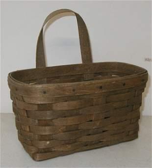 Longaberger 1983 Medium Key Basket