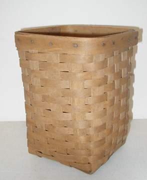 Longaberger 1986 Small Wastebasket