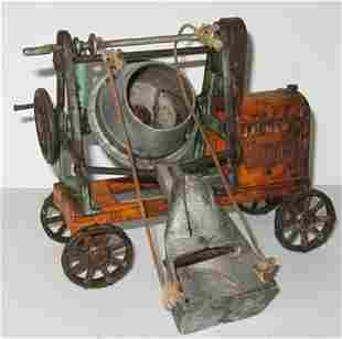 Kenton Jaeger Cement Mixer, G-VG, Some Rust