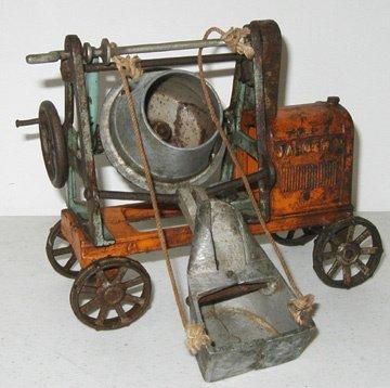 2011: Kenton Jaeger Cement Mixer, G-VG, Some Rust