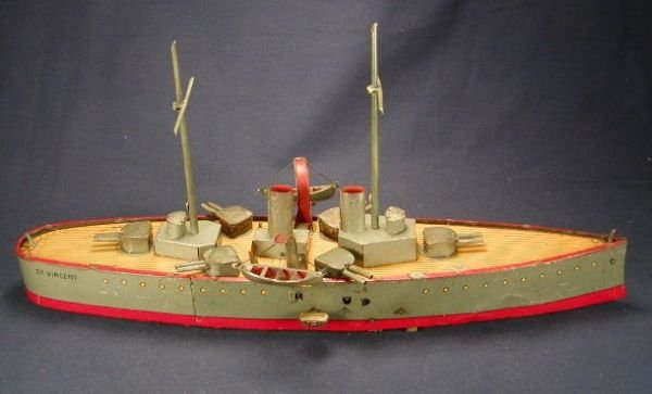 2084: Lehmann St. Vincent Battleship with Two Stacks.