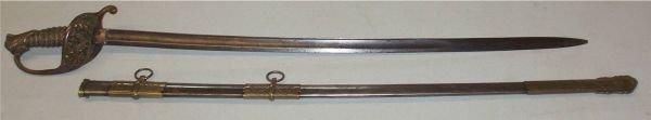 1008: Civil War US Model 1850 Non-Regulation Staff and