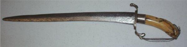 1024: British Midshipman's Dirk, 18th Century, Vintage