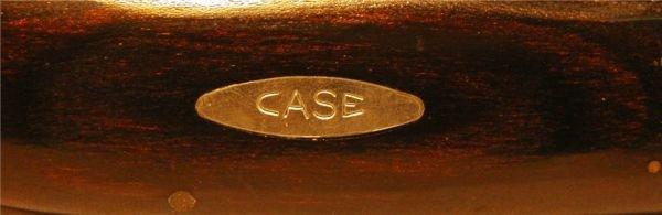 1126: Case Folding Knife XX with Buffalo Graving, P172, - 2