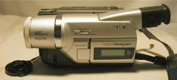 3113: Sony Digital Handycam 450X Digital Zoom, Digital