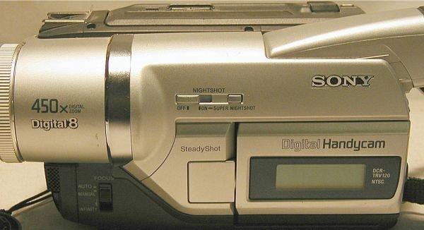 3113: Sony Digital Handycam 450X Digital Zoom, Digital  - 2