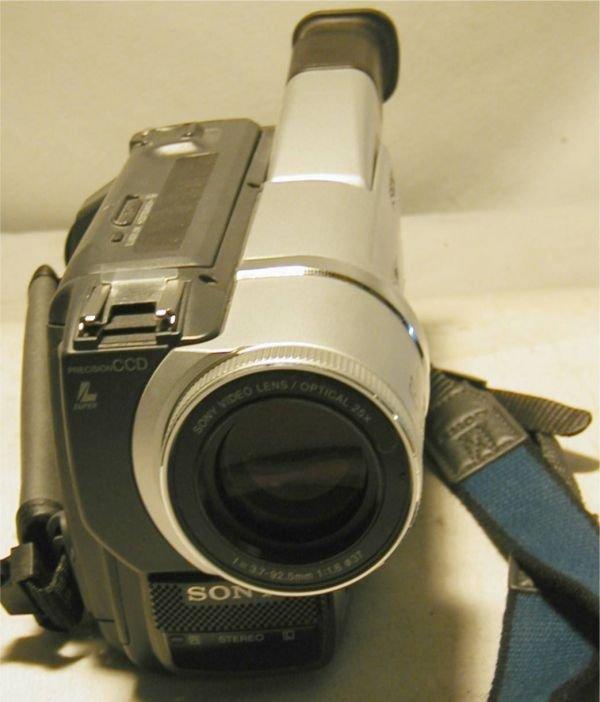 3113: Sony Digital Handycam 450X Digital Zoom, Digital  - 3