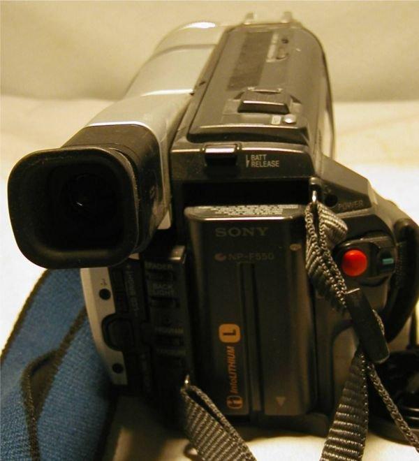 3113: Sony Digital Handycam 450X Digital Zoom, Digital  - 5