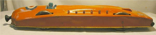 "4014: General Toy, 21 1/2"" Long, Land Speed Race Car"