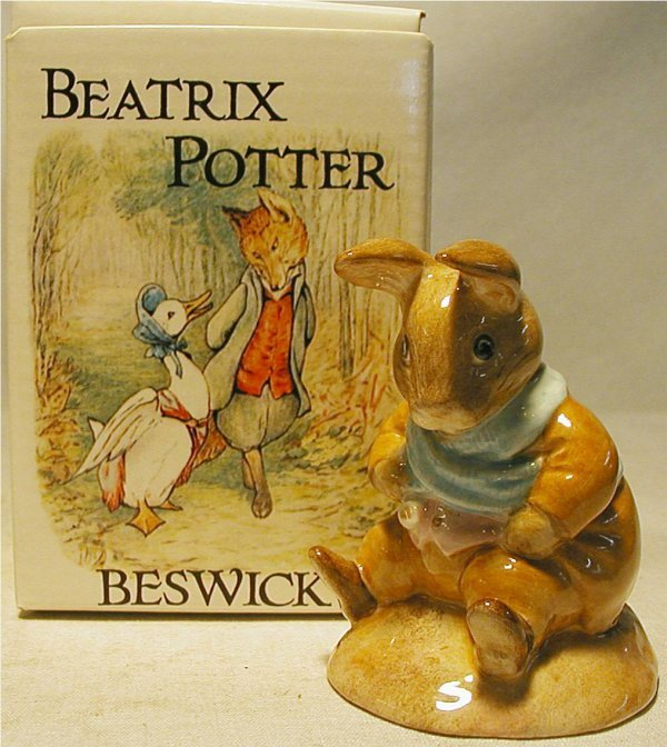 1017: Beswick Beatrix Potter Old Mr. Bouncer with Box