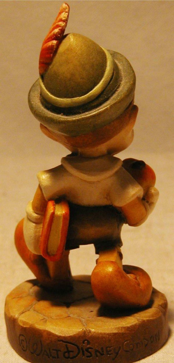 1074: Anri 1988 Disney Pinocchio #270 with Box, MIB, 4  - 3