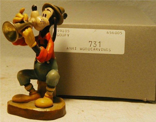 1094: Anri 1987 Disney Goofy #731 with Box, MIB, 4 Inch
