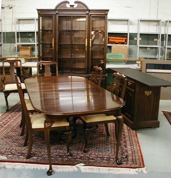 1020B: Harden Cherry Dinning Room Set (Consisting of Ta