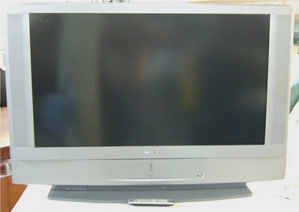 1138: Sony Wega 50 Inch Flat Screen, Model KDF- 50WE655