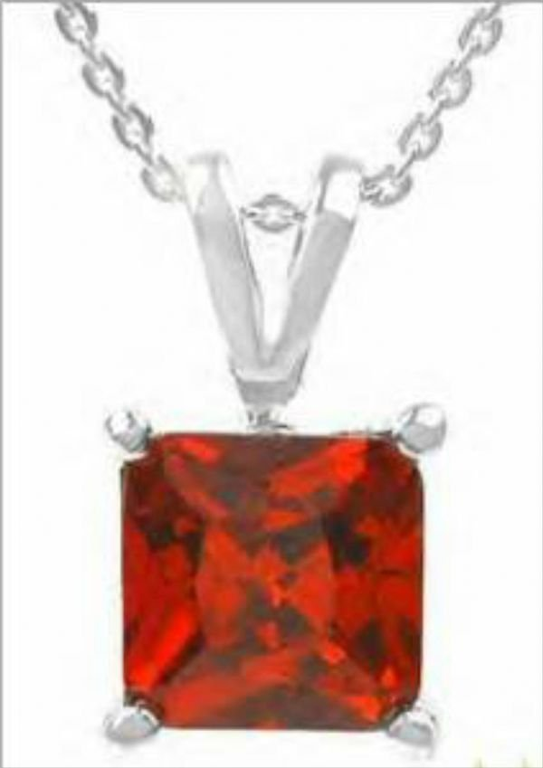1005B: Italian Made Majestic Necklace With 3.71ctw Cz L