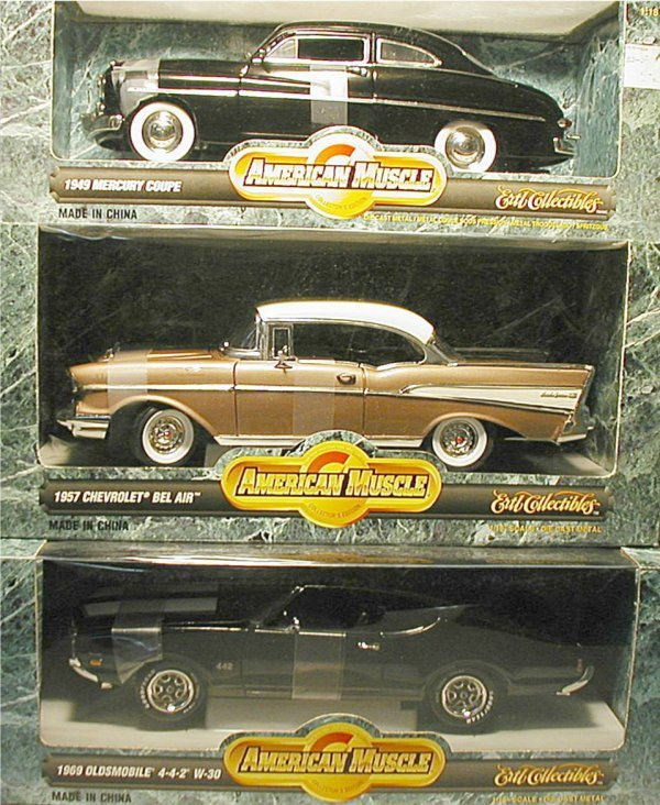 2005: American Muscle Cars (Bel Air, Mercury Coupe, Old