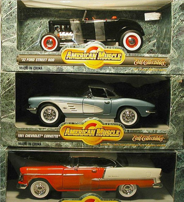 2007: American Muscle Cars (Ford Street Rod, Corvette,