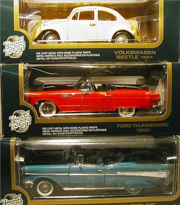 2009: Road Tough (Volkswagon Beetle, Ford Thunderbird,