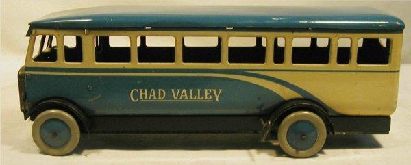 "2012: Chad Valley 12"" Bus, Key wind motor, Near Mint"