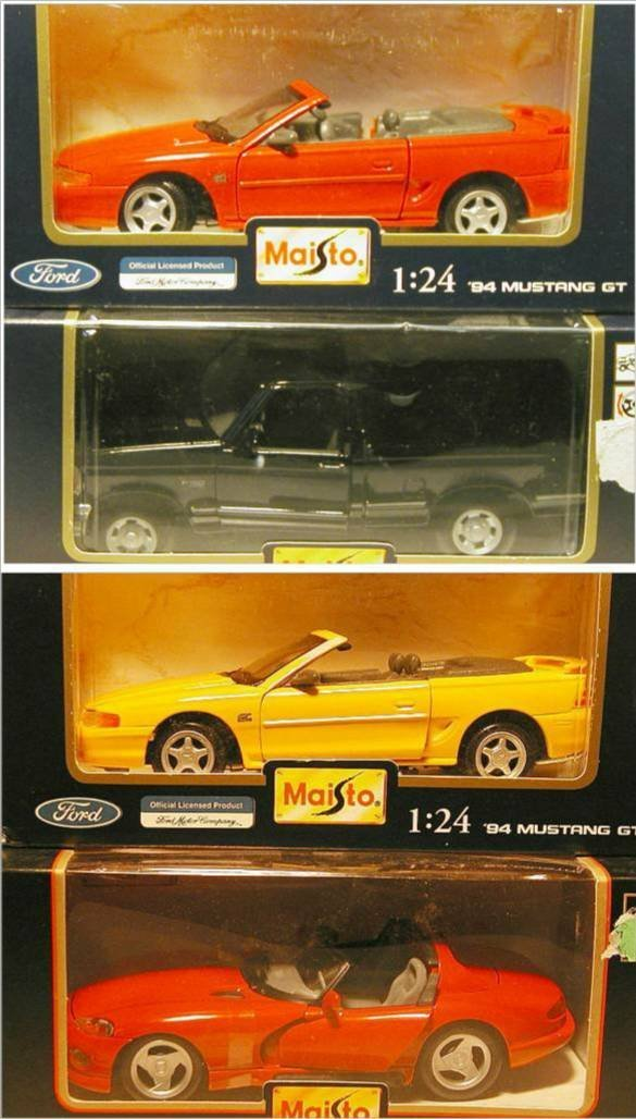 2017: Maisto (Ford F150 Pickup, Mustang GT, Viper, Must