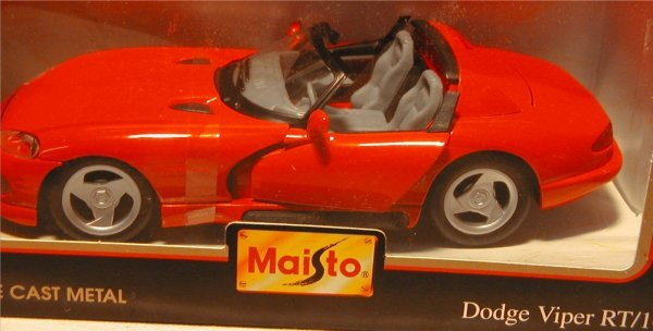 2017: Maisto (Ford F150 Pickup, Mustang GT, Viper, Must - 7