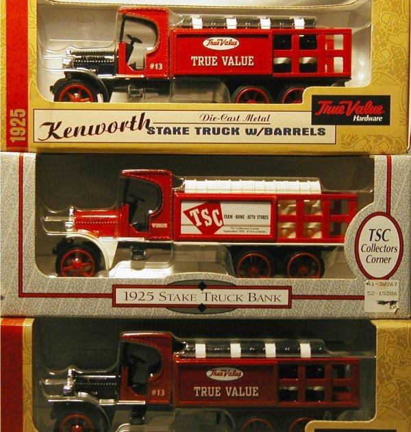 2021: Ertl ( Two True Value Stake Truck Banks & TSC 192