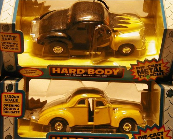 2023: Tootsietoy Hard Body 1940 Ford Coupes (Two)