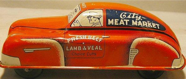 "2024: Courtland City Meat Market Truck. 7"" Long, Windup"