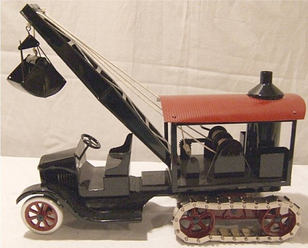 """3226: Cowdery Dredge on Track Truck 6 of 6, 16"""" Long"""
