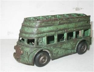 Arcade Green Double Decker Bus