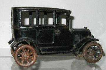 13: Arcade Cast Iron Ford Sedan