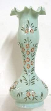 Hand Painted Bristol Vase