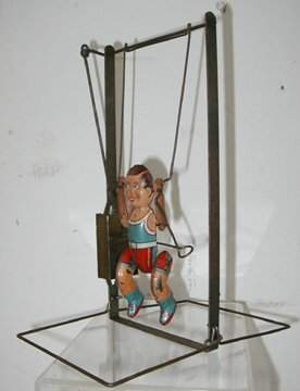 Marx Boy on Trapeze