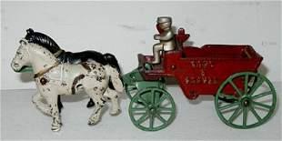 """Kenton Sand and Gravel Wagon, 10 """" long"""