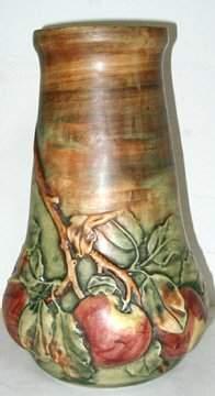 "Weller Baldwin 13"" H Vase"