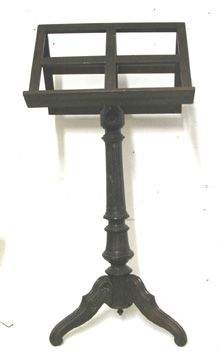 1800's Three Legged Book/Music Stand